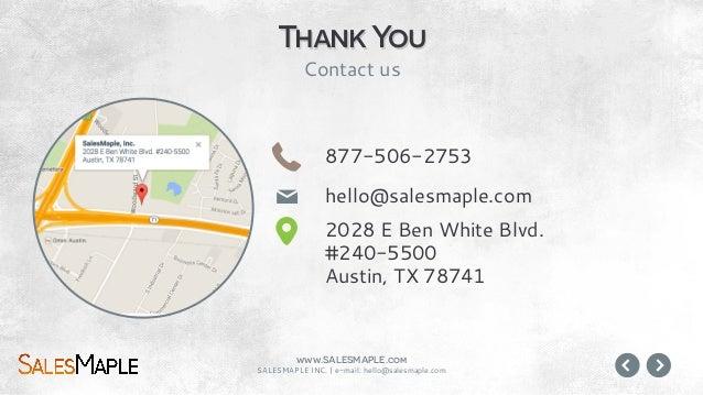SalesMaple