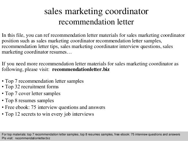 interview questions and answers free download pdf and ppt file sales marketing coordinator recommendation - Marketing Coordinator Interview Questions And Answers