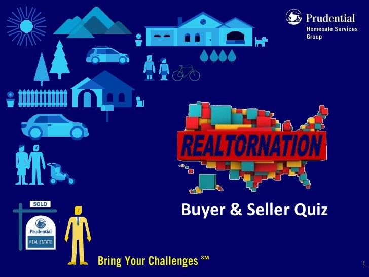 Buyer & Seller Quiz                      1