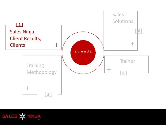 Sales Ninja Training Profile