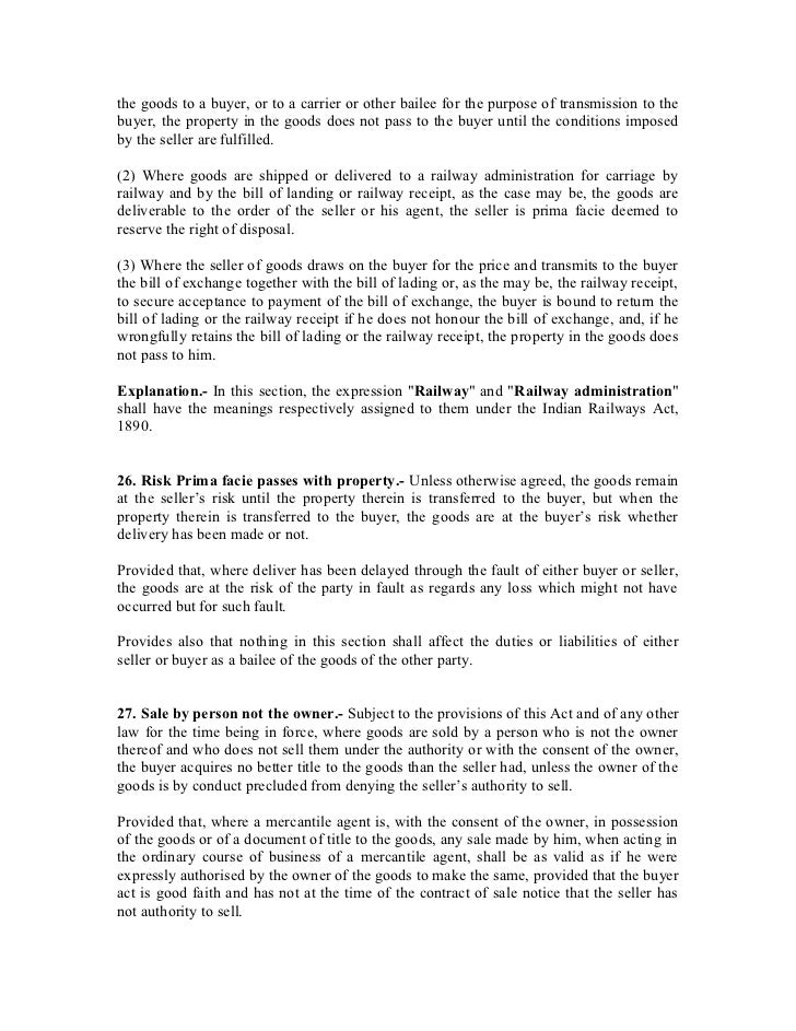 belize sales of goods act The magnuson-moss warranty act does not cover sales of services warranties in the sale of goods exercise 4 exercise 5 warranties in the sale of goods (part 2.