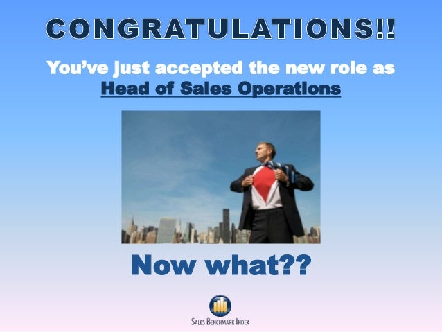 sales operations Thinking about becoming a sales operations manager read this job description to learn about the responsibilities, skills, and experience typically required.