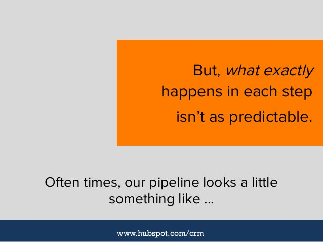Often times, our pipeline looks a little something like ... But, what exactly happens in each step isn't as predictable. w...