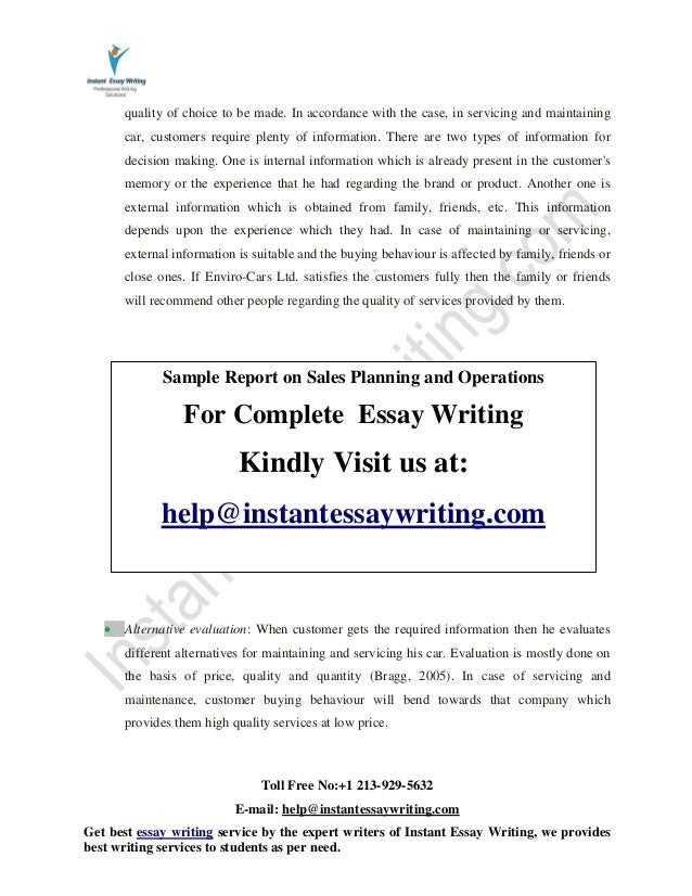 classification of full treatments essay