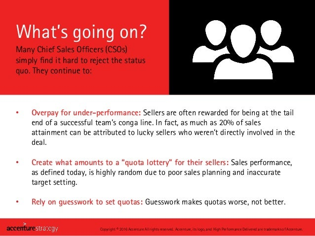 What's going on? • Overpay for under-performance: Sellers are often rewarded for being at the tail end of a successful tea...
