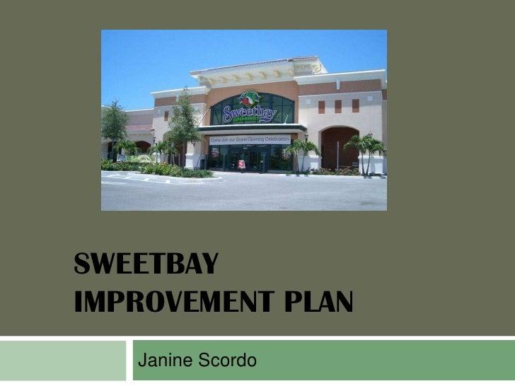 SWEETBAYIMPROVEMENT PLAN   Janine Scordo