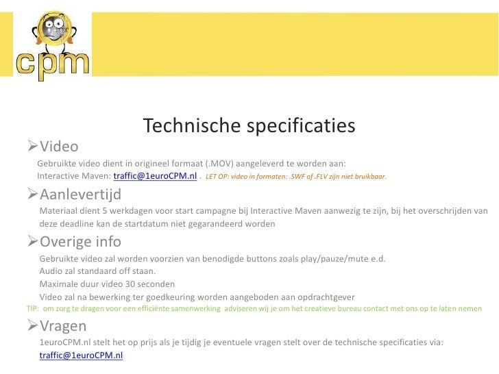 Contactgegevens</li></li></ul><li>Over 1euroCPM.nl<br /><ul><li>De discounter onder de online advertising netwerken</li></...