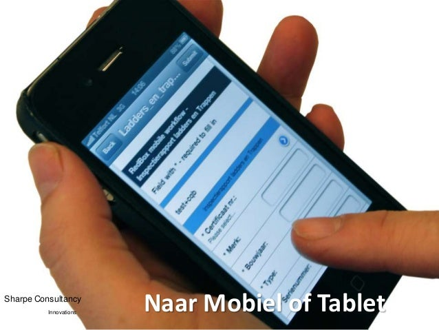 Sharpe Consultancy          Innovations                        Naar Mobiel of Tablet