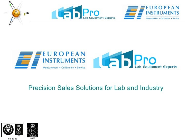 Precision Sales Solutions for Lab and Industry