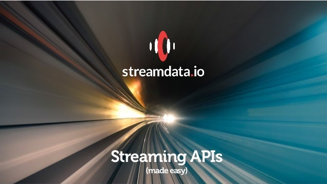 COVER Streaming APIs (madeeasy)