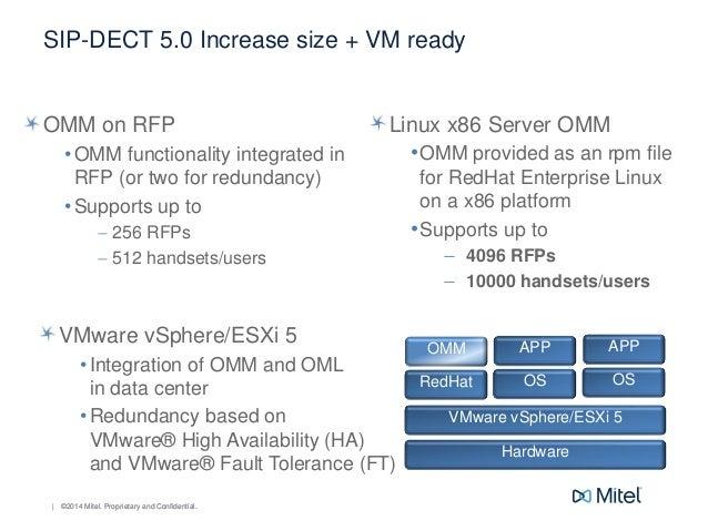 Mitel Entrenamiento técnico soluciones SIP DECT