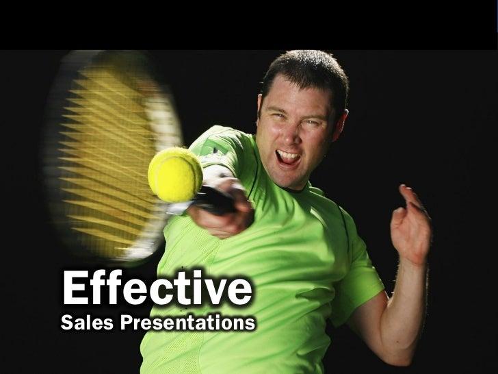 EffectiveSales Presentations