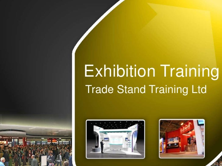 Exhibition Stand Training : Exhibition training