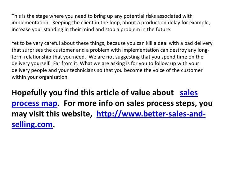 Sales process map Slide 3