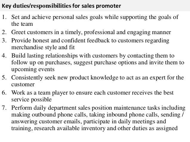 Advertising Sales Representative Job Description  Template