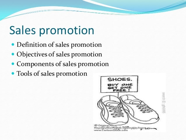 Promotion definition