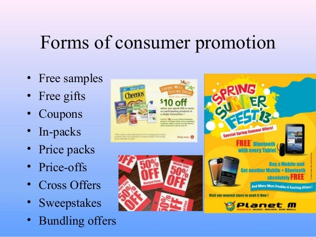 advertising personal selling coupons and sweepstakes are forms of sales promotion ppt 01 apr2014 7921