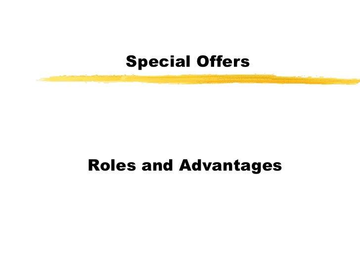 Sales promotion presentation