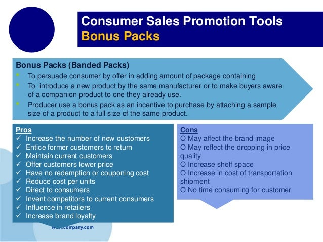 price based consumer sales promotion Summarizing the key sales promotion techniques that marketing firms direct towards trade and consumers include real world examples to describe the following classifications of sales promotion techniques: o discounts and deals o increasing industry visibility o price-based consumer sales promotion o attention-getting consumer sales promotion.