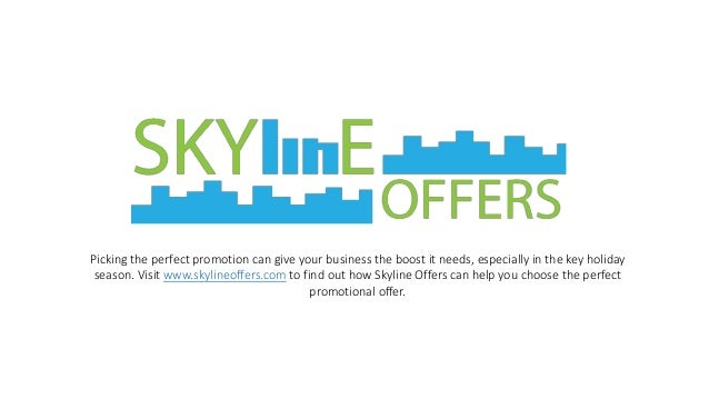 Picking the perfect promotion can give your business the boost it needs, especially in the key holiday  season. Visit www....