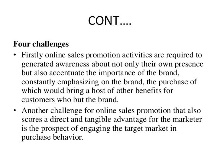challenges of promotion in marketing