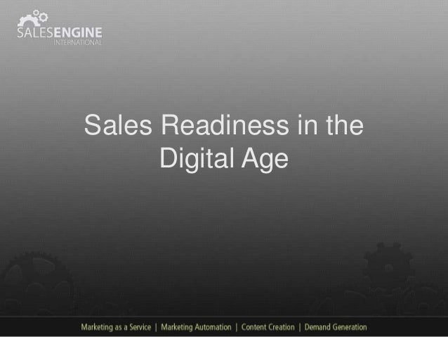 Sales Readiness in the      Digital Age