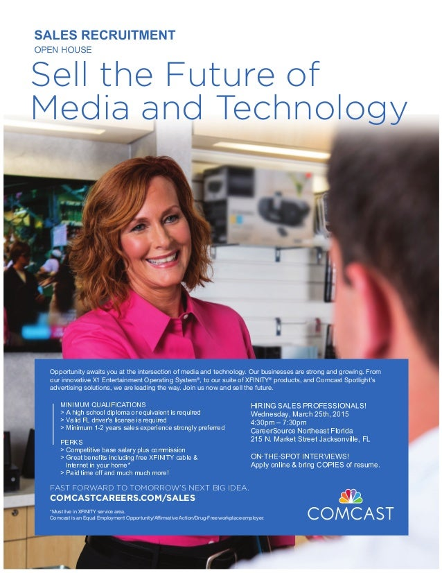 Sell the Future of Media and Technology Opportunity awaits you at the intersection of media and technology. Our businesses...