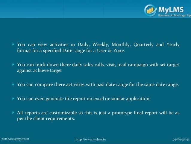 salesman report form