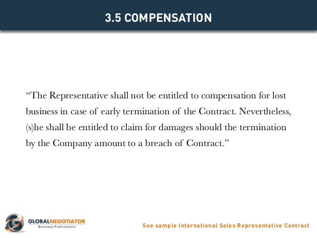 Sales Rep Agreement Template. Sales Agent Contracts 4 5 3 Contract .