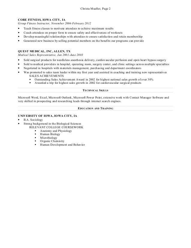 sales resume 2013