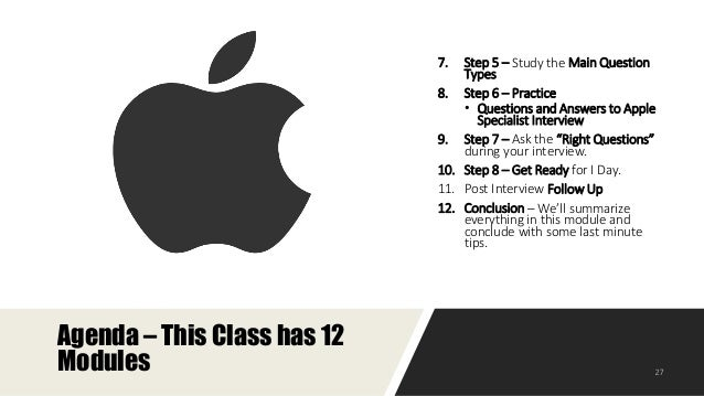 How to Prepare for the Specialist Interview at Apple?