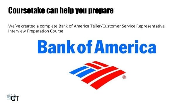 how to prepare for the teller  customer service