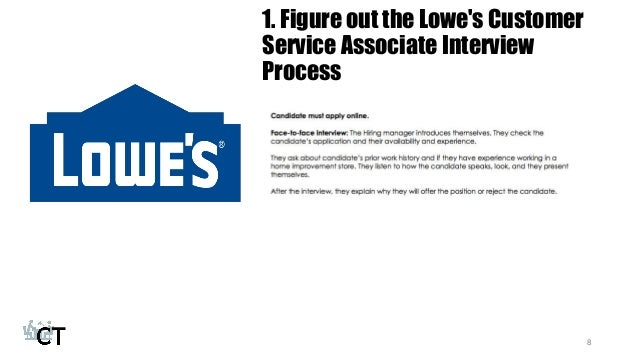 How To Prepare For The Lowes Customer Service Associate Interview