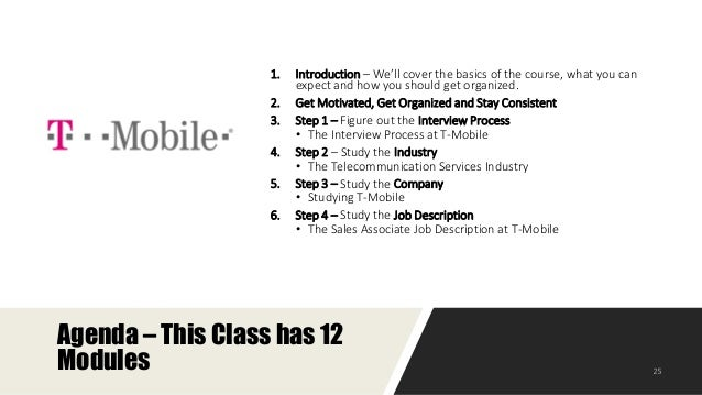How to Prepare for the Sales Associate Interview at T-Mobile?