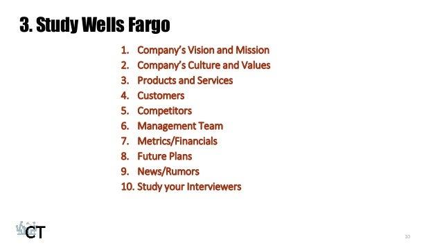 10 3 Study Wells Fargo