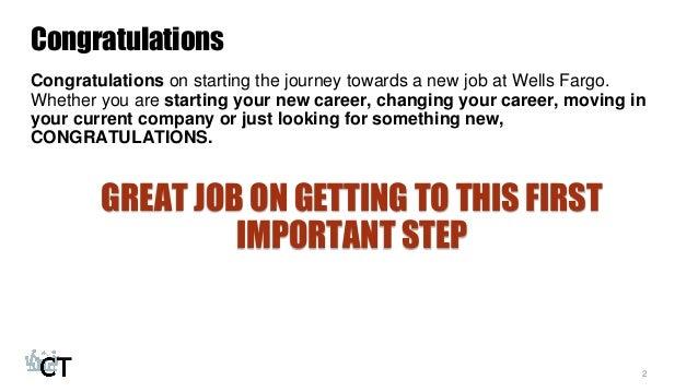 Wells Fargo Teller Interview Preparation Course Coursetake 2