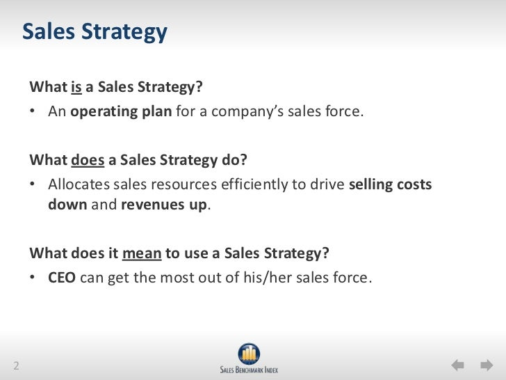 Sales Strategy How To Set Up  For Sales Success