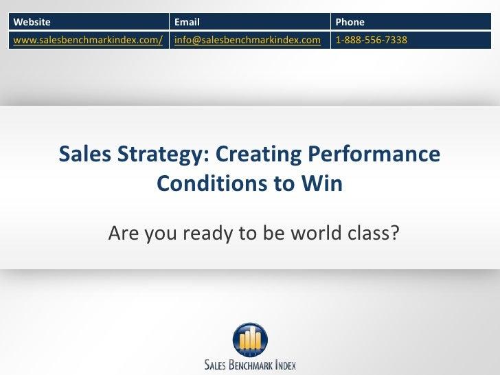 Website                        Email                          Phonewww.salesbenchmarkindex.com/   info@salesbenchmarkindex...
