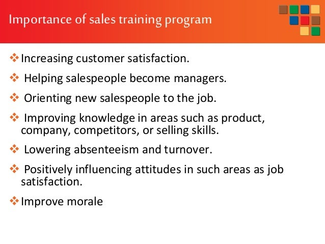 Sales Training Program Execution And Evaluation