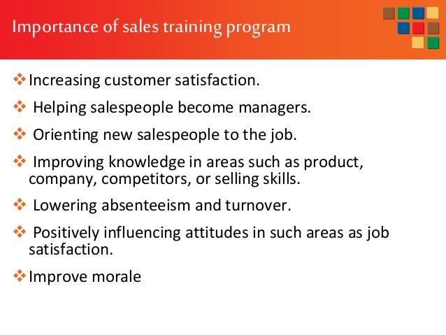 Sales Training Program Execution And Evaluation