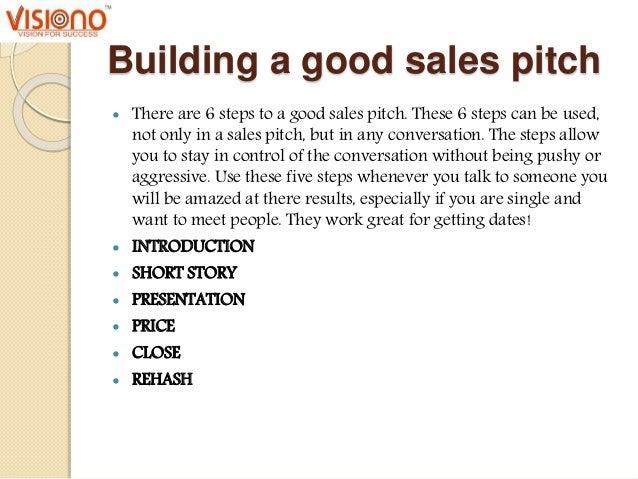 Good sales presentation