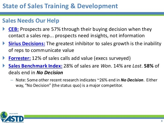 Sales Needs Our Help  CEB: Prospects are 57% through their buying decision when they contact a sales rep... prospects nee...