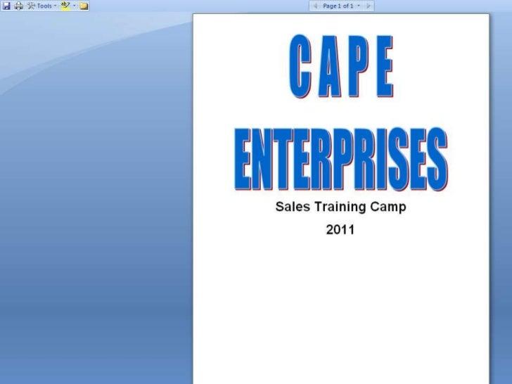 Cape Enterprise