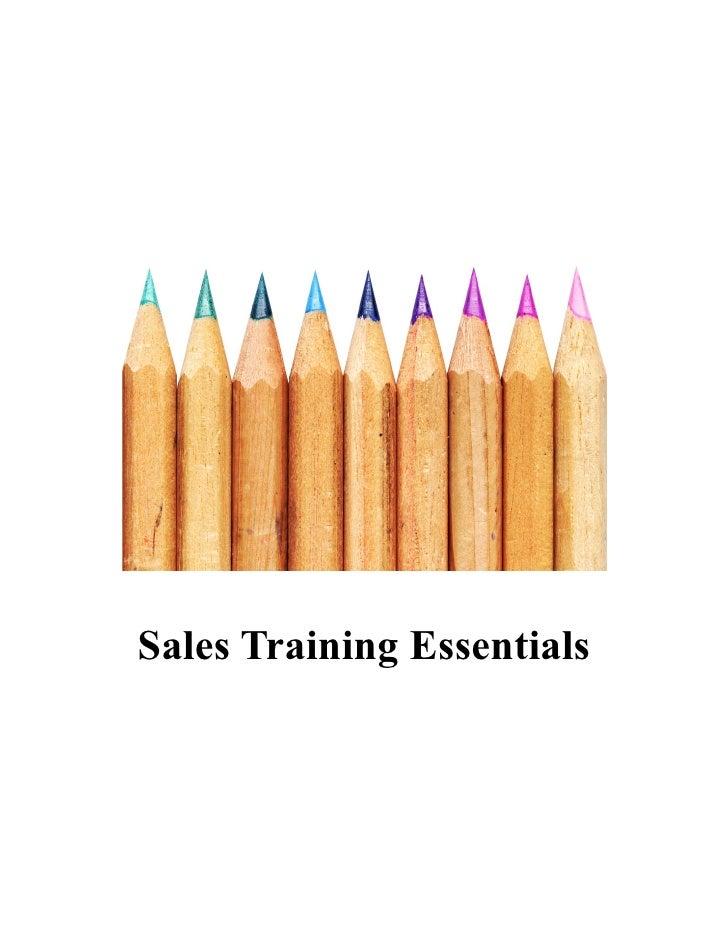 Sales Training Essentials