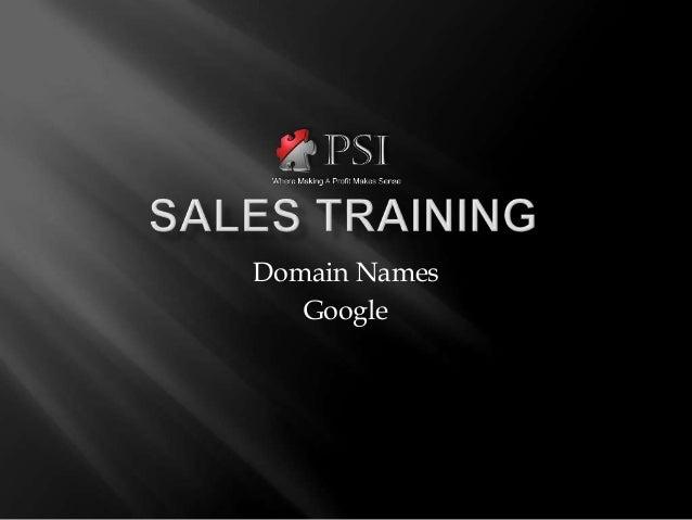 Domain Names   Google