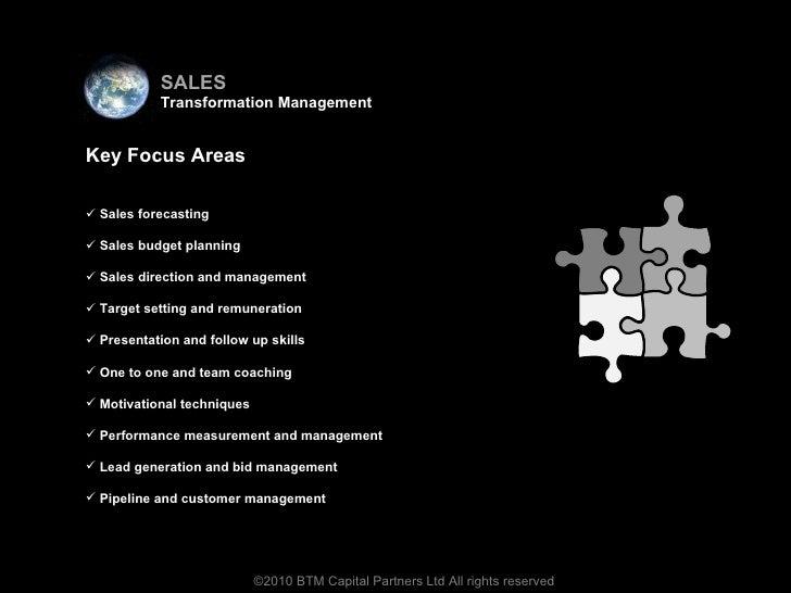 <ul><li>Virtual team </li></ul><ul><li>Key Focus Areas </li></ul><ul><li>Sales forecasting </li></ul><ul><li>Sales budget ...