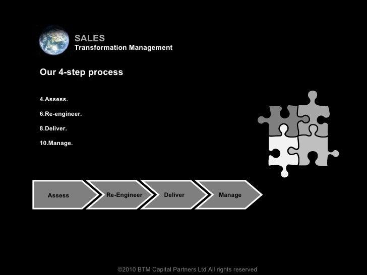 <ul><li>Virtual team </li></ul><ul><li>Our 4-step process </li></ul><ul><li>Assess.  </li></ul><ul><li>Re-engineer. </li><...