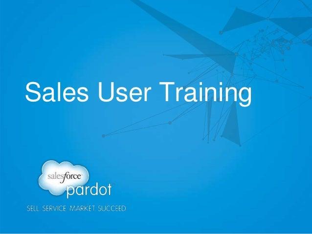 Sales User Training