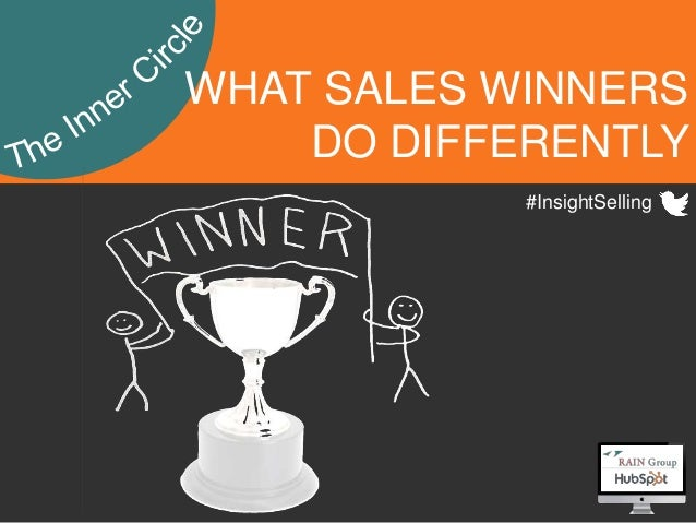 1 WHAT SALES WINNERS DO DIFFERENTLY #InsightSelling