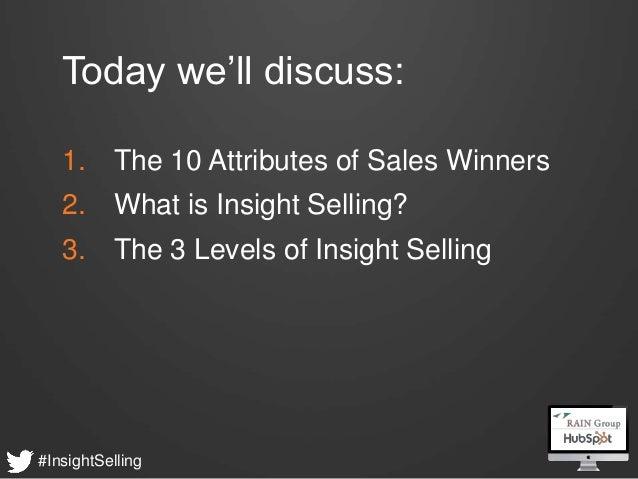 What Sales Winner do Differently - HubSpot & RAIN Group Webinar Slide 3